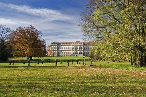 Park, Monza, Italy, Villa Real, Lombardy