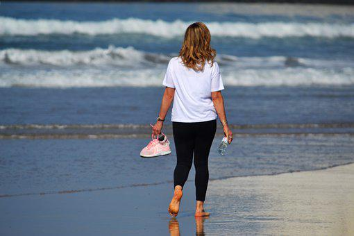 Ride, Beach, Mar, Walk, Sand, Waves, Relax, Walking