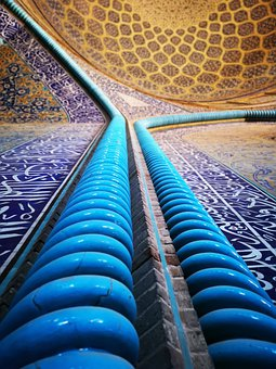 Iran, Mosque, Isfahan, Islam, Dome, Architecture, Art
