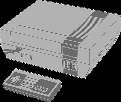 Nintendo Entertainment System, Nes, Nintendo, Console