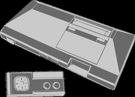 Sega Master System, Sega, Console, Retro, Gaming, Game