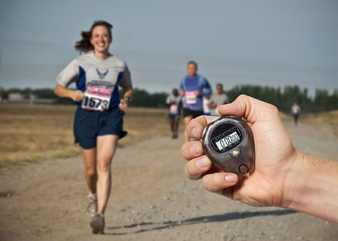 Race, Runner, Running, Time, Chronometer, Competition
