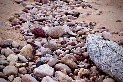 Beach, Rocks, Lake, Superior, Nature, Stones, Shore