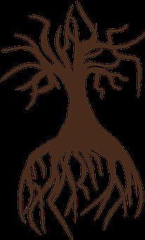 Tree, Birch, Landscape, Nature, Konar, Trunk, Branches