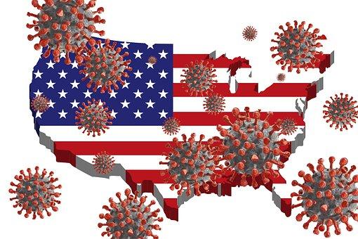 Usa, America, United States, Corona, Coronavirus, Virus
