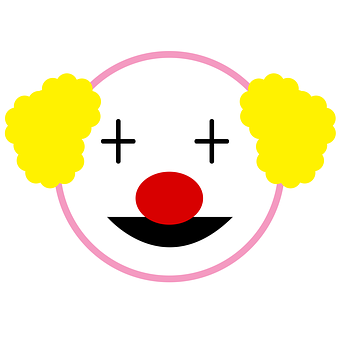 Clown, Circus, Laugh, Icon Clown, Red Nose, It