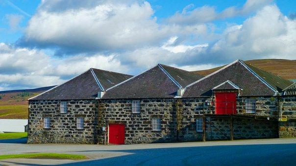 Glenfarclas, Whisky, Scotland, Warehouse, Distillery
