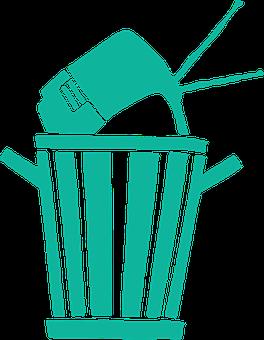 Garbage, Electronics, Trash, Rubbish, Bin, Recycle