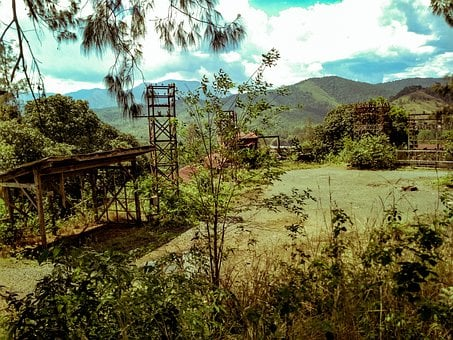 Mining Site, Hiking, Old Coal Site, Quarry, Philippines