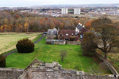 Edinburgh, Craigmillar Castle, Historical, History