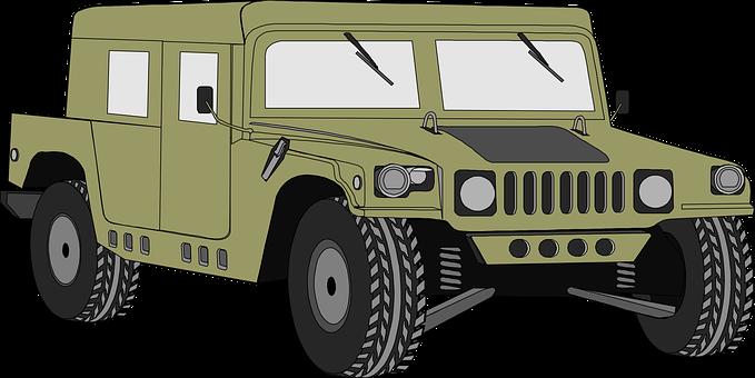 Hummer, Vehicle, Humvee, Military, Auto