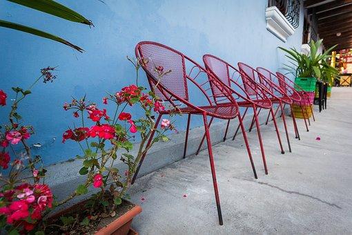 Chairs, Colorful, Lifestyle, Decor, Guatemala, Inviting