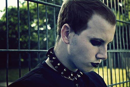 Goth, Gothic, Dark, Mysterious, Portrait, Boy, Man