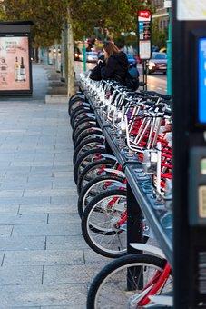 Urban, Bicycles, City, Road, Tourism