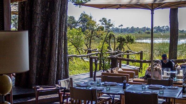 Safari, Lodge, Botswana, Travel, Camp, Savannah