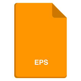 File Icon, Vector File, Eps Icon, Eps, Flat Icon