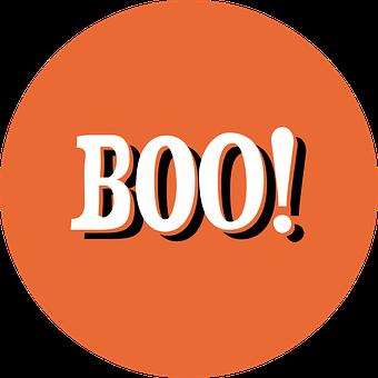 Halloween, Bottle Cap, Boo, Circle, Round, October