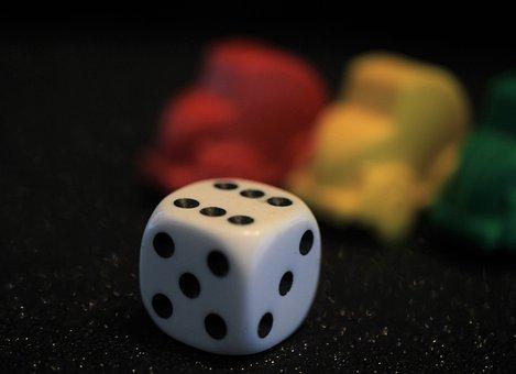 Play, Cube, Six, Joy, Happy, Toys, Luck, Target, Fun