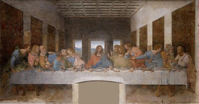 Leonardo Da Vinci, The Last Supper, The Last Meal