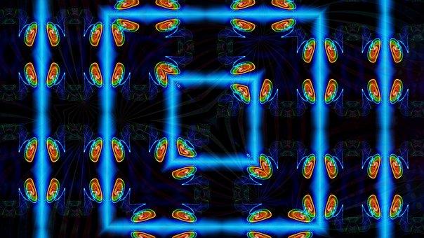 Window, Kaleidoscope Art, Pattern