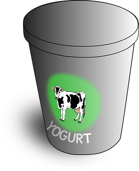 Yoghurt, Yogurt, Yoghourt, Container, Cow, Dairy, Food