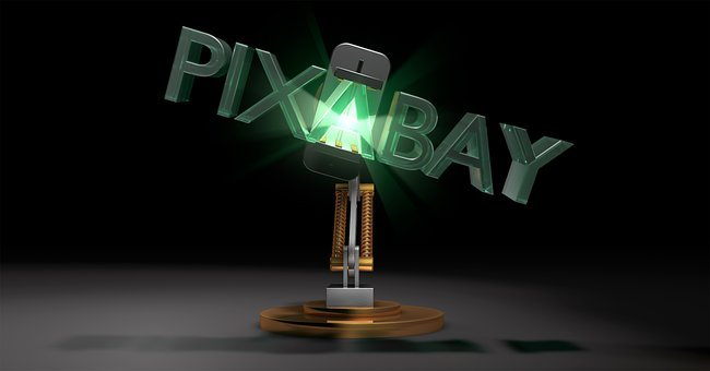 Pixabay, Robot Arm, 3D Animation