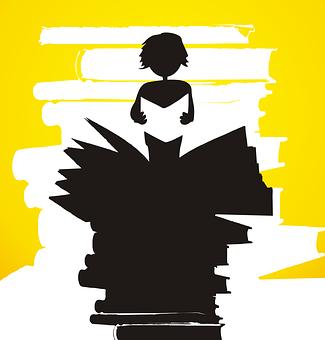 Read, Heap, Book, An Anonymous, Reader, Bookworm