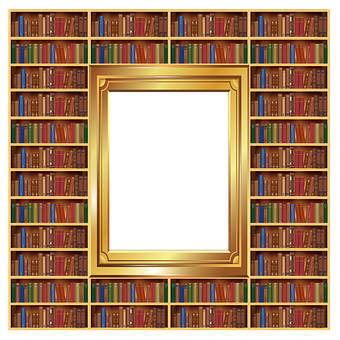Wardrobe, Bookcase, Books, Portrait, Photo Frame