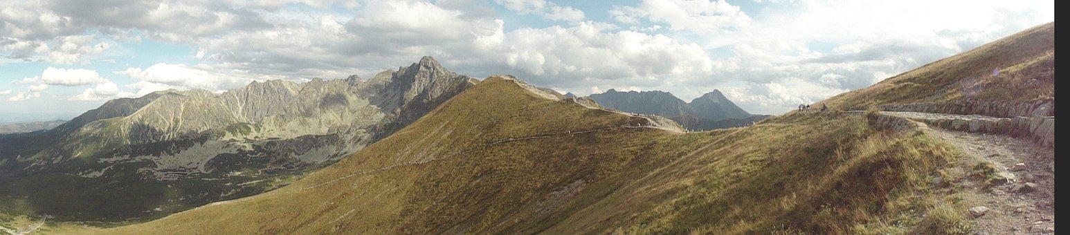Panorama Mountain, Buried, Mountains, Nature, Karpaty