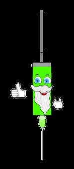 Syringe, Clip Art, Vaccination, Medical, Treatment