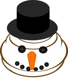 Graphic, Snowman Emoji, Emoticon, Smiley, Emoji