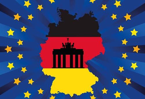 Germany, Eu, Flag, Europe, Black, Red, Gold, Symbol