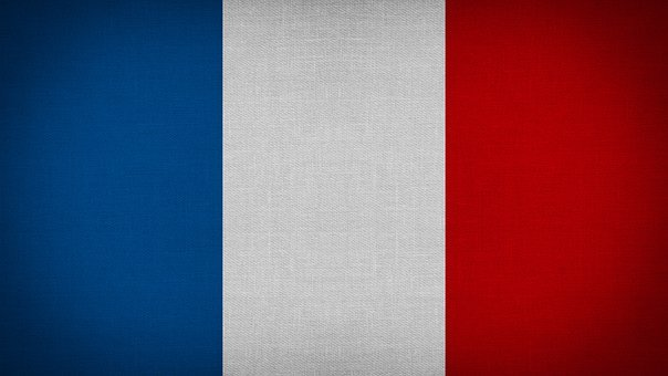 Europe, France, Fabric, Texture, Textile, Sign, Flag