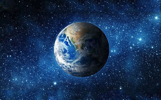 Earth, Earth Hour, Time, Nature, Global, Environment