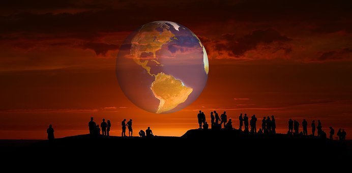 Group Of People, Earth, Globe, Human, Personal, Marvel