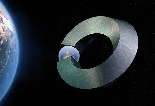 Ball Closure Rings, Space, Star, Globe