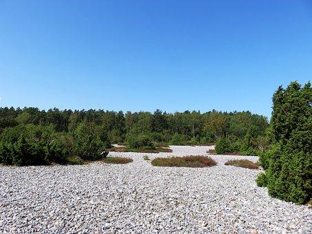 Rügen, Island, Fire Stone Fields, Baltic Sea, Sea