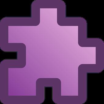 Puzzle, Piece, Pink, Purple, Violet, Jigsaw, Games