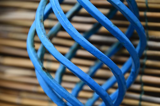 Spiral, Blue, Abstract, Eddy, Pattern, Design, Form
