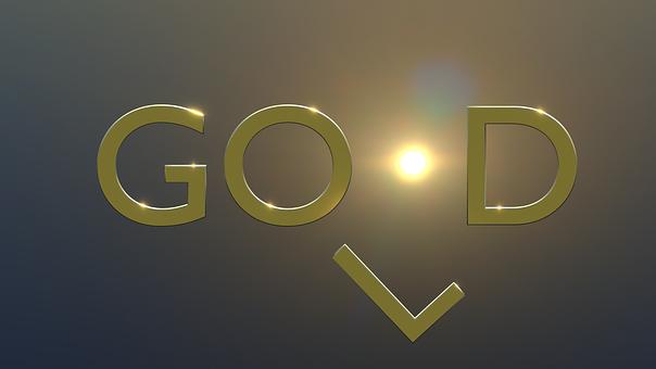 Gold, God, Good, Sun, Metal, Glow, Shine, Word
