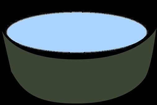 Bowl, Water, Drink, Dog, Pet, Cat, Soup, Blue