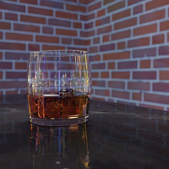 Whiskey, Whisky, Glass, Alcohol, Drink
