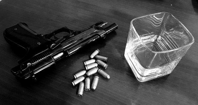 Whisky, Gun, Weapon