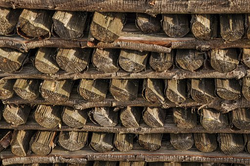 Regulation, Symmetry, Holzstapel, Combs Thread Cutting