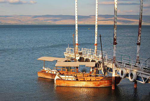 Israel, Sea Of Galilee, Ginosar, Galilee