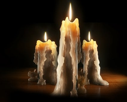 Candles, Light, Shadow, Night, Flame