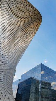 Museum, Soumaya, Mexico, Building, Architecture, Art