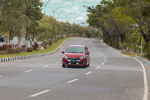 Car, Street, City, Road, Urban, Transportation, Taxi