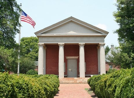 Courthouse, Historic, Museum, 1831, Virginia