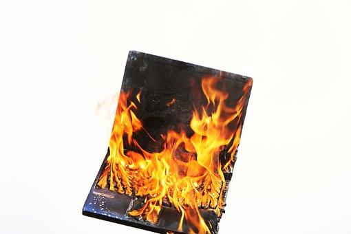 Laptop, Fire, Stress, Voltage, Burnout, Profession